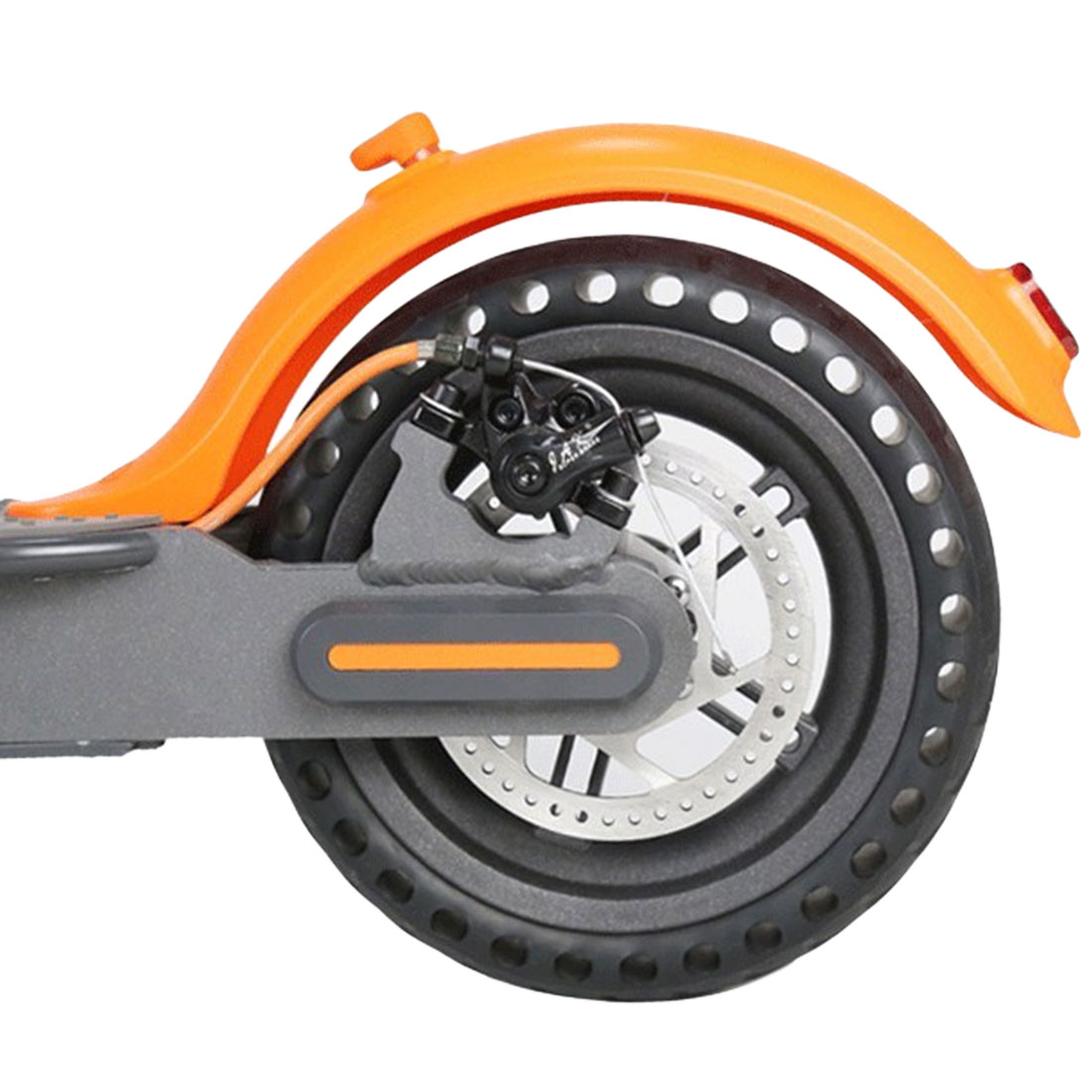 Pro Solid Hole Tires Shock Absorber Non Pneumatic Tyre Damping Rubber Tyres Wheels for Xiaomi Mijia M365 Scooter Skateboard