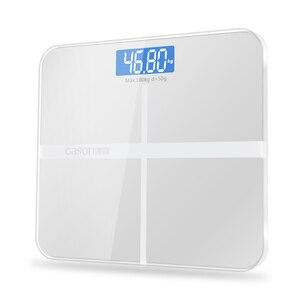 Image 4 - A1 ที่ถูกต้องห้องน้ำ Body Scale สมาร์ทอิเล็กทรอนิกส์แบบดิจิตอล Home Health Balance แก้ว Toughened LCD Display 180 kg/50 g