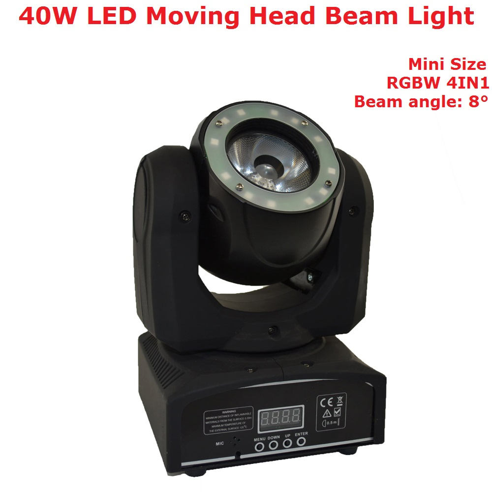 Mini 40W Led Moving Head Light O-R-S-A-M- LED Lamp RGBW Quad Color Beam Effect Lights For Professional Stage Dj Events LightingMini 40W Led Moving Head Light O-R-S-A-M- LED Lamp RGBW Quad Color Beam Effect Lights For Professional Stage Dj Events Lighting