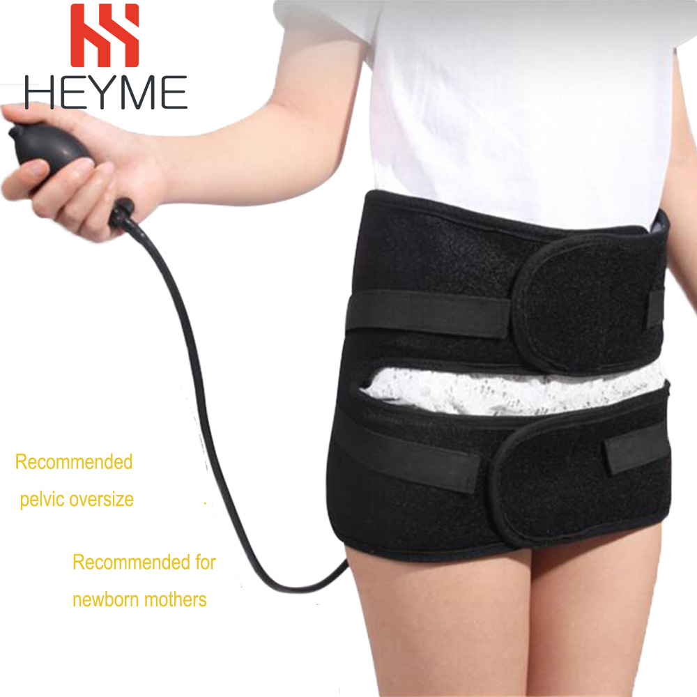 HEYME Inflatable Postpartum Recovery Band Pelvic Correction Mother Pelvic Correction Belt Hip Support Bone Posture Corrector