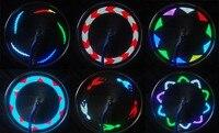 muqgew потрясающий освещение 14 светодио дный мотоцикл велоспорт велосипед колеса сигнал шины спиц 30 изменения высокое качество продвижение