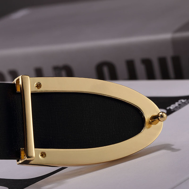 2017 mens belts luxury designer belts men high quality fashion leather belts gold buckle style Brand men strap Cintos Cinturon