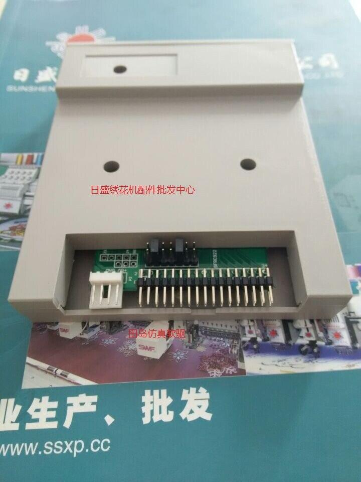 SFR1M44-FU 100% Genuine Gotek Floppy To USB Drive Floppy Emulator Reader Lector For Tajima SWF Happy Brother Embroidery Machines