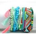Boho Magnetic Bracelet Summer Beach Bohemian Bracelets Bangles Multilayered Bracelets for Women Brazil Pulseira De Couro 2016