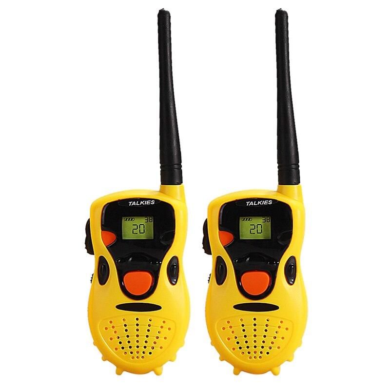 2pcs Kids Talkies Handheld Toys Walkie Talkies Children