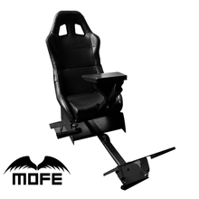Availble Gear Shift Holder Support of Steering Wheel Pedal Folding with blanket Racing Simulator Game Seat for Logitech G27 G29