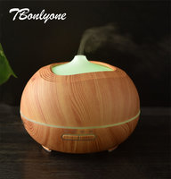 TBonlyone 300ML Aromatherapy Humidifier Aroma Lamp Ultrasonic Oil Diffuser Air Humidifier Essential Oil Diffuser For Home