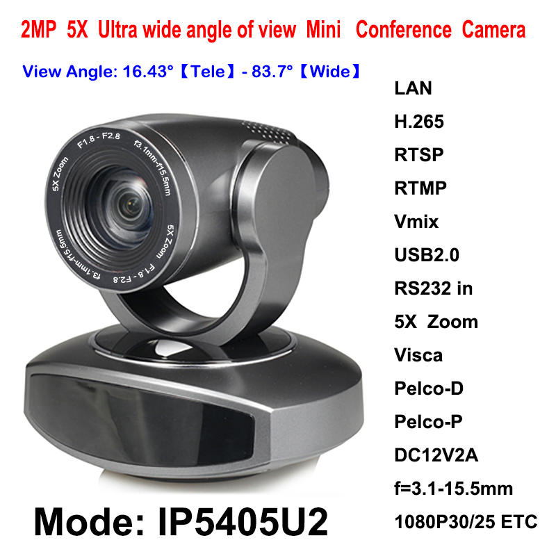 5x Optical Zoom 1080p30fps Mini full hd ip streaming ptz camera with HD-SDI RJ45 Network Video Output Interface 2mp hdmi full hd broadcast 12x zoom ptz video conference camera audio with ip usb2 0 usb3 0 interface