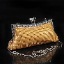 Ethnische Perlen Abendtasche Tageskupplungen Braut Hochzeit Vintage Cheongsam Tasche Bankett Handtasche Handtaschen SMYCYX-E0041
