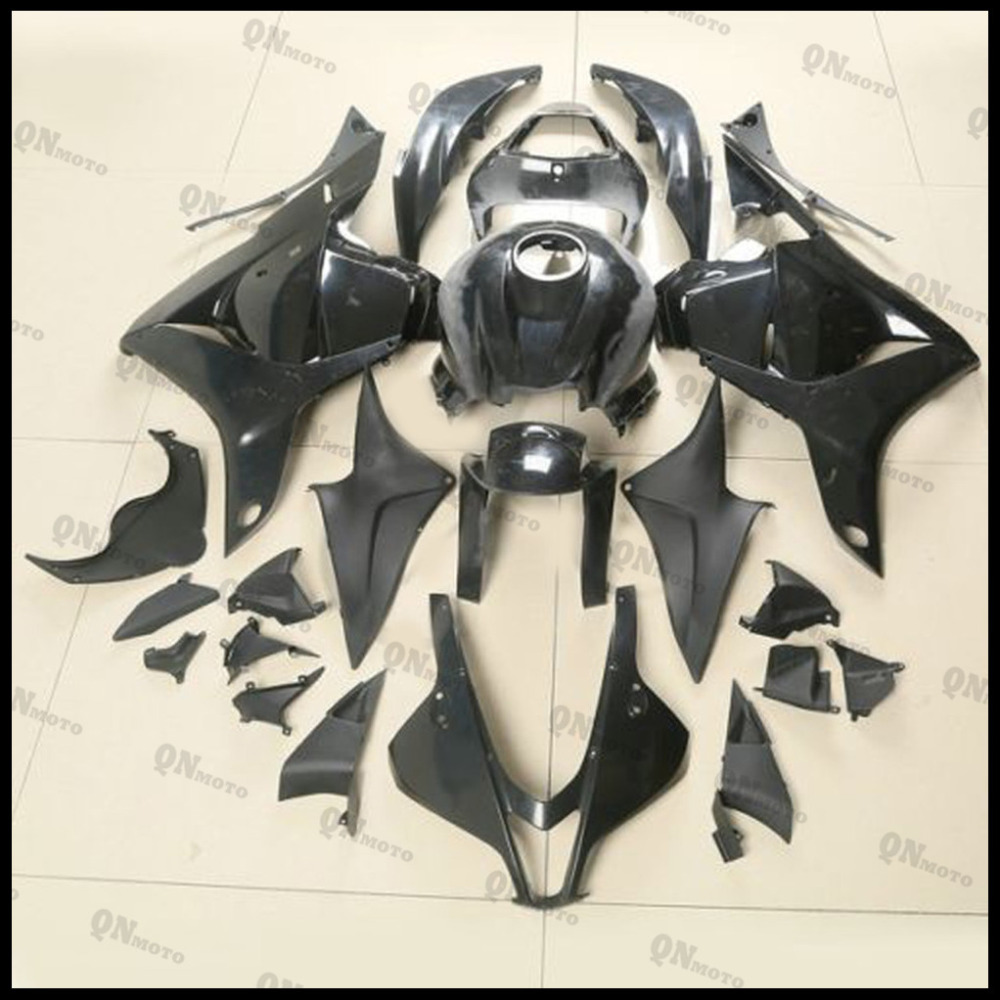 Motorcycle ABS Unpainted Black Fairing Kit For Honda CBR600RR CBR600 RR CBR 600RR F5 2009 2010 2011  + 3 Gift motorcycle front upper fairing headlight holder brackets for honda cbr600rr cbr600 rr cbr 600 rr 2007 2008 2009 2010 2011 2012
