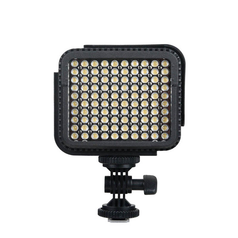 LUX1000 CR95 LED Digital Camera Camcorder Video Light Photo Lamp For Canon Nikon Sony Pentax DSLR Cameras with AA <font><b>Battery</b></font> Case
