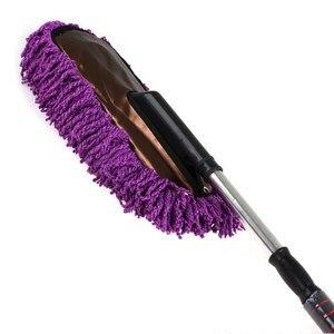 Image 5 - Soporte EE nuevo 75CM de longitud microfibra nano extraíble cepillo de cera retráctil limpieza del coche XY01