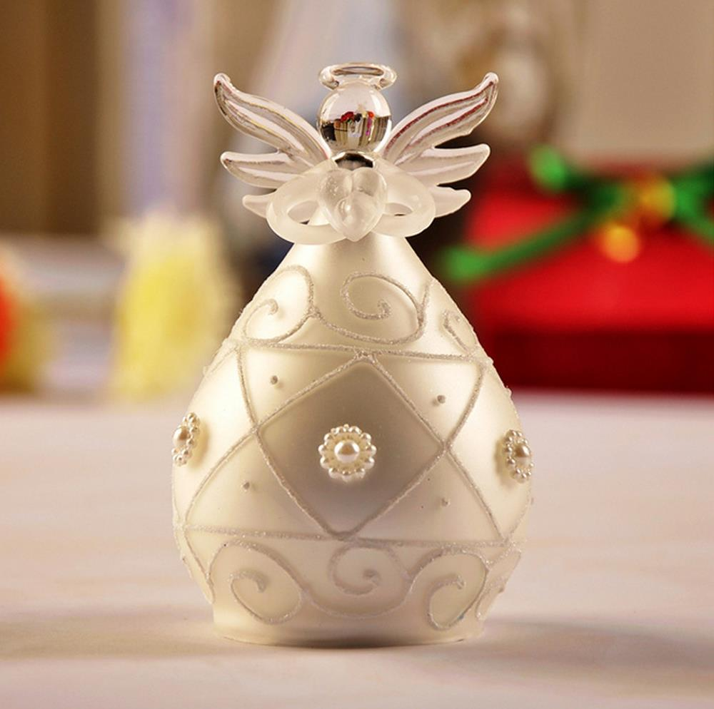 Miniature crystal ornaments - Aliexpress Com Buy Top Grade Crystal Craft Elegant White Pearl Blessing Angel Home Wedding Decor Birthday Gift Handmade Miniature Freeshipping From