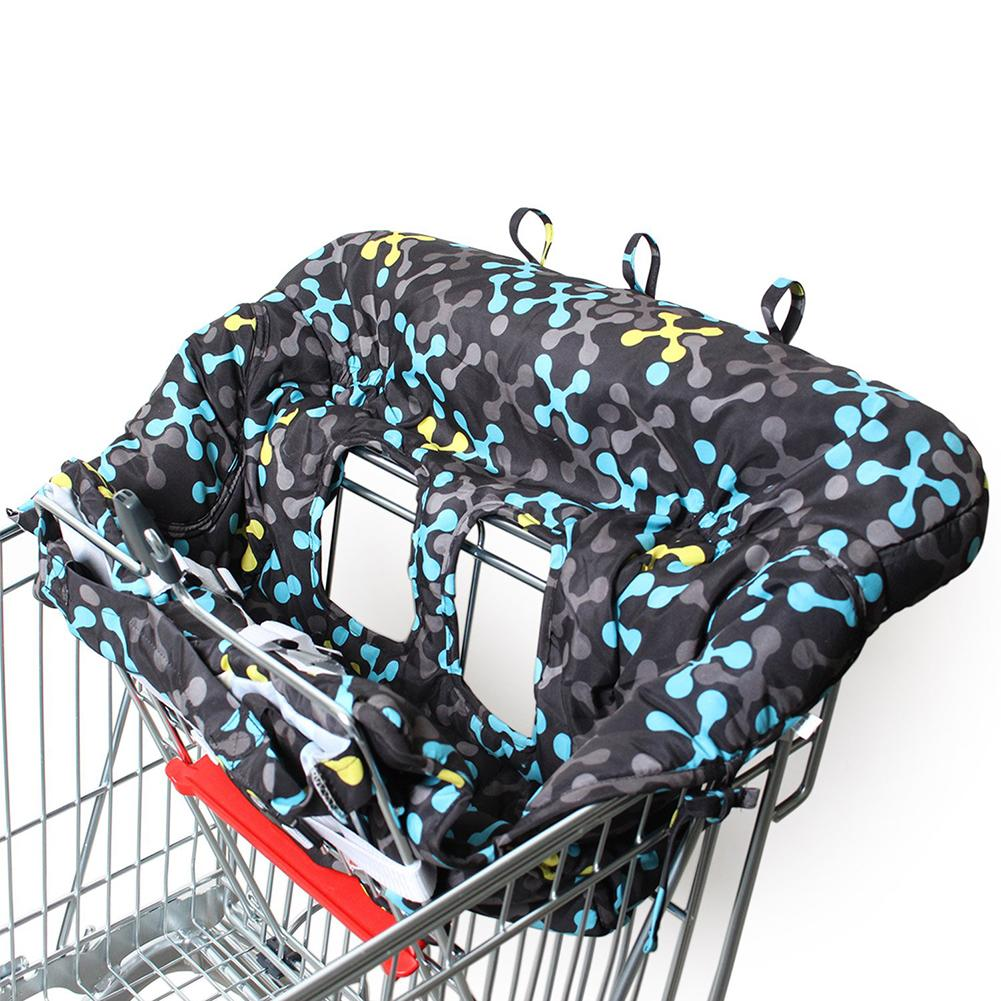 Printed Baby Children Supermarket Shopping Cart Dining Chair Cushion Security Protection Travel Portable Cushion