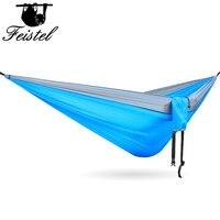 Nylon parachute hammock ao ar livre hammock 300 portátil