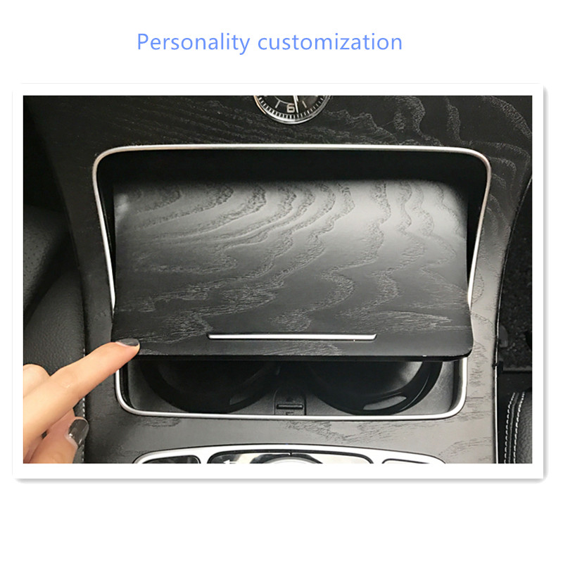 2018 new high flame retarding automobile ashtray For Mercedes W203 W210 W211 W204 Benz C E S CLS CLK CLA SLK A200 Accessories