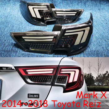 Car bumper tail lamp for Toyota Reiz Mark X taillight 2014 2015 2016y car accessories LED tail light for Mark X reiz rear light
