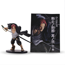 Japan Anime one piece Akakami no shankusu Figure Toy 6 PVC Actions Figure Doll Model Collection for Christmas Gift japan anime fate apocrypha original banpresto collection figure ruler overseas limited