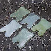 3PCS Modern Natural Jade Stone Guasha Gua Sha Board Square S