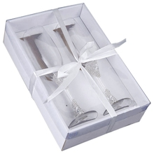 Лидер продаж, 2 шт./компл., креативный подарок, свадебный и жених, шампань, флейты, свадебные очки, набор, чашка, обжарка, Кубок, Свадебный домашний декор для отеля