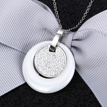 2 layer Retro Ceramic Women Necklace