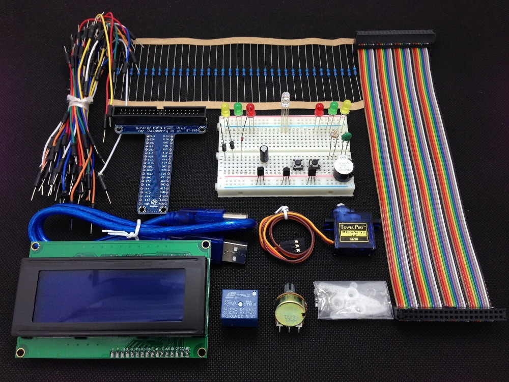 [Sintron] Новый 40 Pin GPIO Breakout DIY Kit проект Прототипная плата для Raspberry Pi 2 Модель B & B +, lcd 2004 Бесплатная доставка