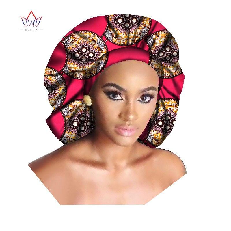 2017 BintaRealWax Hecho A Mano multicolor lazo de La Cabeza Bufanda Abrigo Principal de Ankara Africana Ankara Impreso Head Wrap WYB234