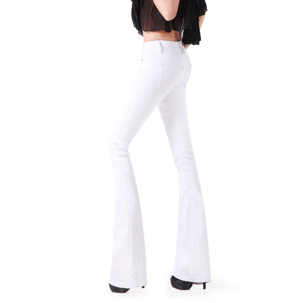La Femmes Plus Large Pantalon Mode Jeans Super Sexy New Jambe Femme Denim Flare Blanc Vintage Taille Hippie Noir c1TlFK3uJ5