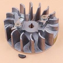 Маховик стартера собачки сегментная Шпонка для HUSQVARNA 142 142E 137 137E легкого запуска, запасные части для бензопилы 530059637