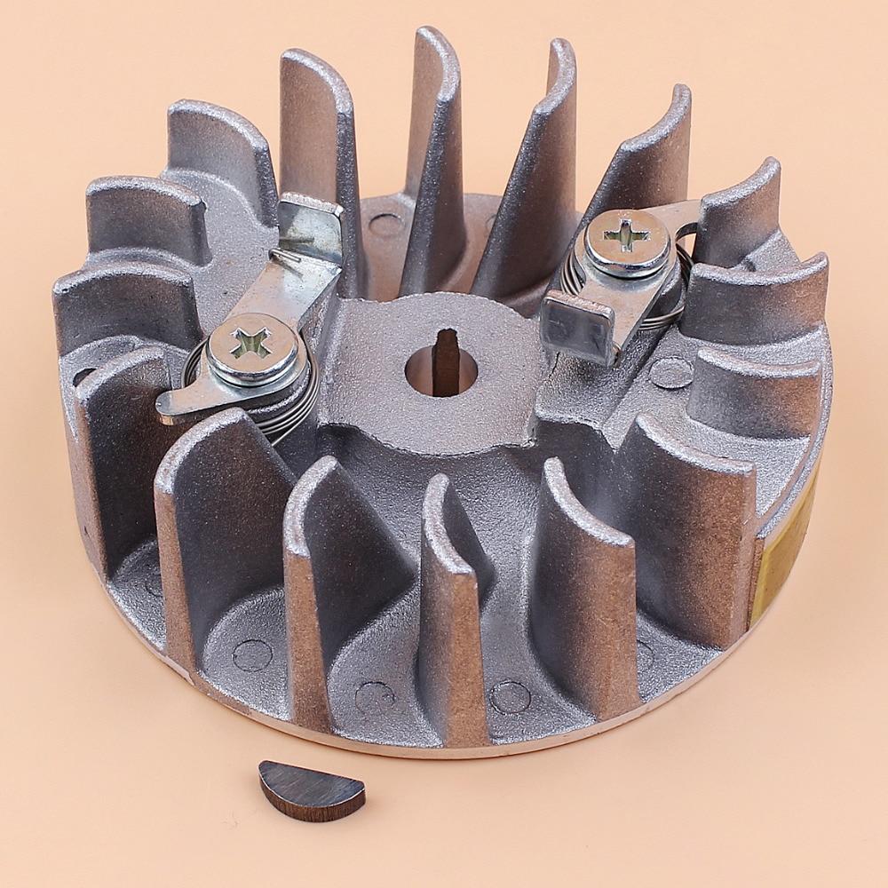 Flywheel Starter Pawls Woodruff Key For HUSQVARNA 142 142E 137 137E Easy Start Chainsaw Replacement Parts 530059637