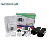 JR309 Care Health Electric Muscle Stimulator Massageador Pads Tens Acupuncture Therapy Machine Massager Slimming Body 4