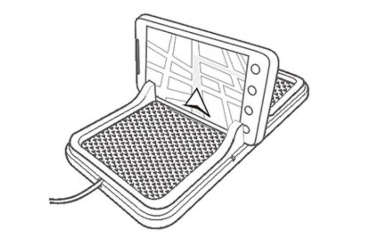 ③Qi cargador de coche inalámbrico para todos los teléfonos