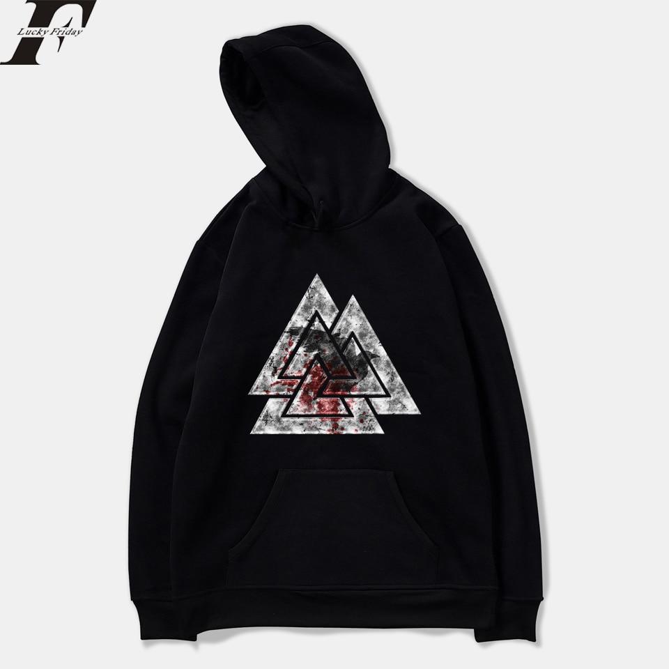 THE VIKINGS King Sweatshirts Fashion Hoodies Harajuku Casual Hoodie Men/Women Clothes Streetwear XXS To 4XL Fashion Clothes