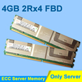 For Hynix DDR2 4GB 2GB 8GB DDR2 667MHz PC2-5300 2Rx4 FBD ECC PC2-5300F FB-DIMM RAM Only For Server Memory RAMs Lifetime Warranty