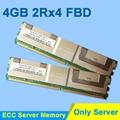 Para Hynix DDR2 4 GB 2 GB 8 GB DDR2 667 MHz PC2-5300 2Rx4 FBD ECC PC2-5300F FB-DIMM RAM sólo para la memoria del servidor RAMs garantía de por vida