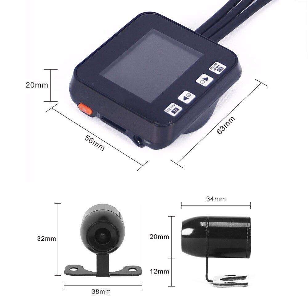 VSYS 2,0 \'\'M6H WiFi Real HD 720 P Motorrad DVR Dash Cam Video ...
