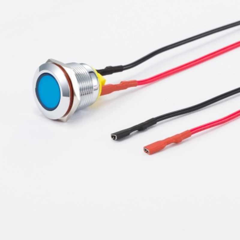 Luz de señal 19mm lámpara piloto luz de señal 5 V 12 V 24 V 220 V luz indicadora led