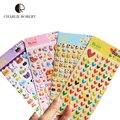 4 folha/set Álbum Etiquetas Bonitos Adesivos Para Notebook Dairy Memo Adesivos Crianças Brinquedos DIY 4 Padrão Diferente do Amor Coelho coração