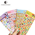 4sheet/set Stickers Cute Stickers For Notebook Dairy Album Memo Stickers Kids DIY Toys 4 Different Pattern Love Heart  Rabbit
