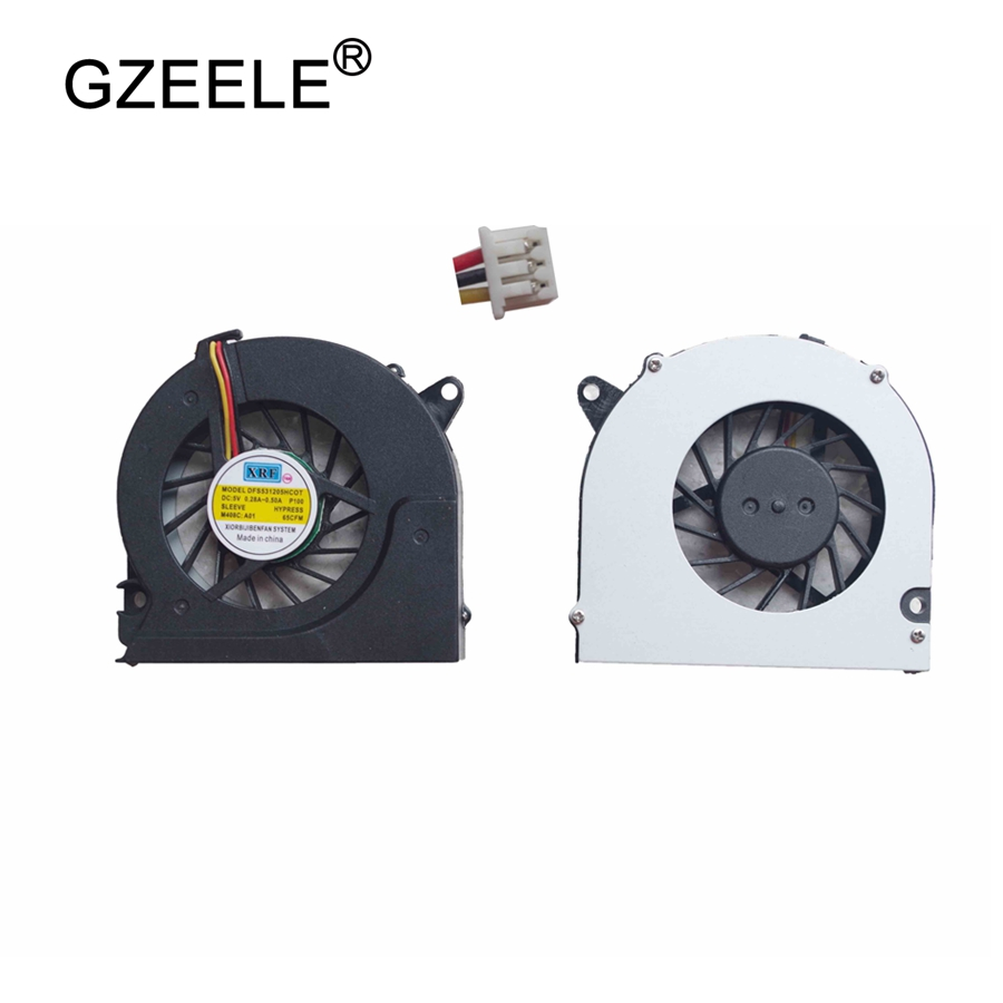 GZEELE New Laptop CPU Cooling Fan For Hp 6535S 6720 6530S 6531S 6735s 6530B 6730S For Compaq 6515B 6510B 6710B 6710S NX6310 Fan