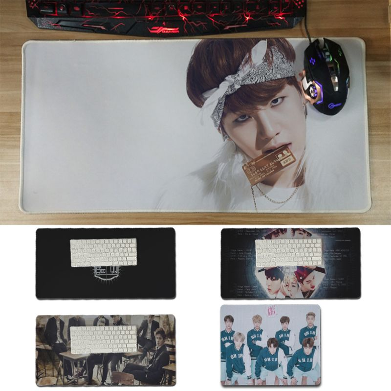 Yinuoda Cool New BTS gamer play mats Mousepad Size for 18x22cm 20x25cm 25x29cm 30x60cm comfortable mouse pad