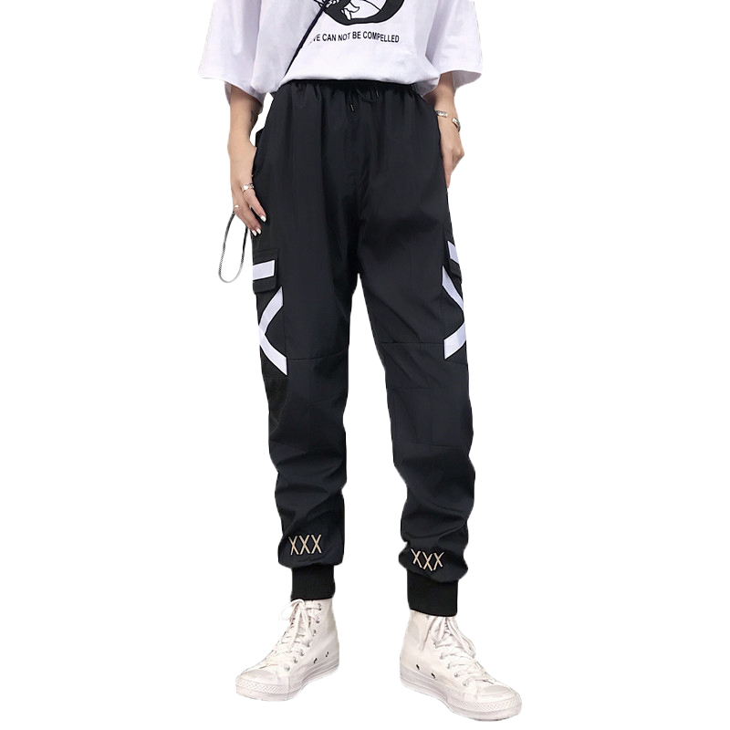 2019 Harem Pants Women High Waist Loose Streetwear Pants Trouser Joggers Pants