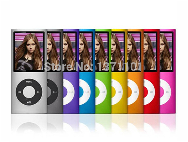 HUSOAR mp4 player 16GB 8Colors for choose Music playing time 30 hours FM radio font b