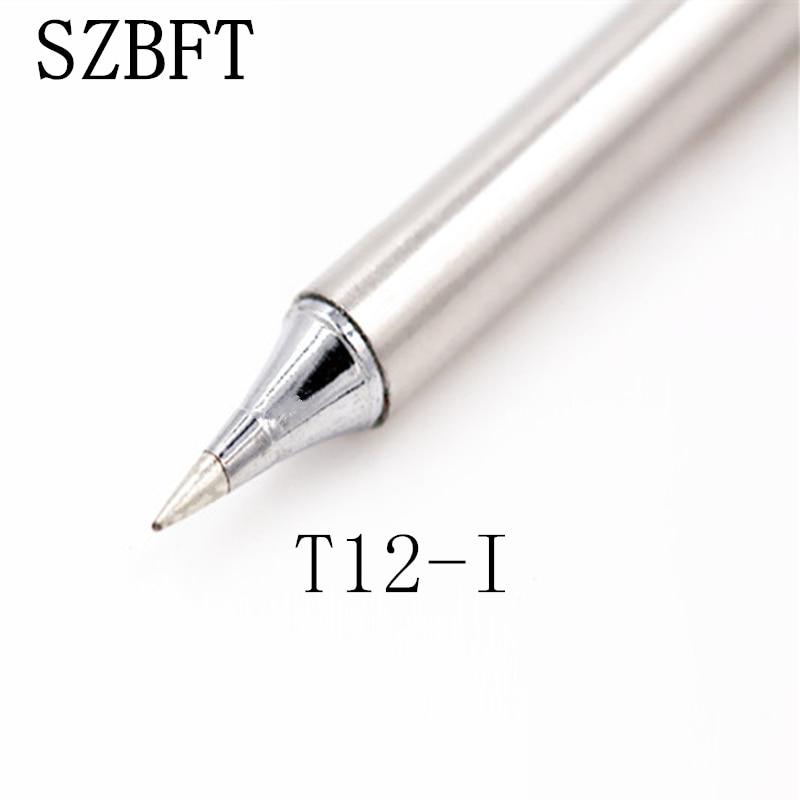 Puntas de soldadura de hierro SZBFT T12-I K KF KU C4 ILS BC2 ect series para estación de retrabajo de soldadura Hakko FX-951 FX-952 envío gratis