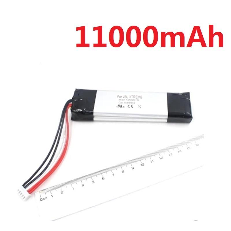 11000 mAh batterie pour JBL Xtreme Bluetooth haut-parleur JBLXTREME li-polymère Rechargeable accumulateur remplacement GSP0931134 7.4 V