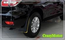 4PCS/Set Car Mud Flaps Splash Guards Front Rear Fender For Nissan Patrol Y62 2010-2018 plastic car styling