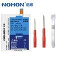 Nohon bateria blt9 100% original para lg nexus 5 google5 d820 d821 bl-t9 t9 bl 2300 mah móvel substituição telefone batteria