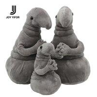 Waiting Plush Toy Zhdun Meme Tubby Gray Blob Zhdun Toy Snorp Plush Doll Toys Pochekun Homunculus