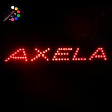 Third brake lights led car light refit additional brake lights for Mazda 3 Axela led 2017 2018 mazd 3 axela daytime light axela fog light axela headlight tribute rx 7 rx 8 protege mx 3 miata cx4 axela