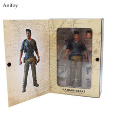"NECA 4 final de UM ladrão NATHAN DRAKE Uncharted Ultimate Edition PVC Action Figure Collectible Modelo Toy 7 ""18 cm KT3423(China)"